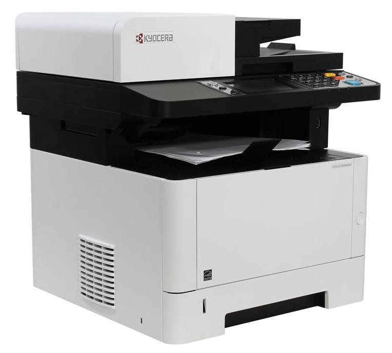 МФУ Kyocera Ecosys M2640idw, A4 Duplex WiFi, 1102S53NL0 / 469817, лазерный, белый, серый мфу 3 в 1 лазерный