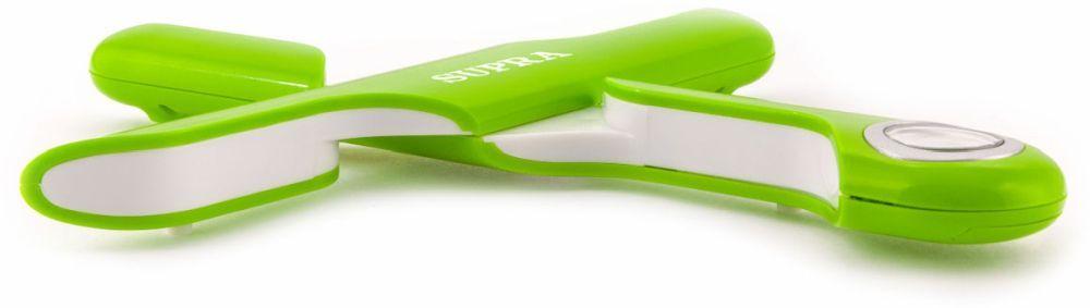 Весы кухонные электронные Supra BSS-4102, цвет: зеленый. 1088235 недорого