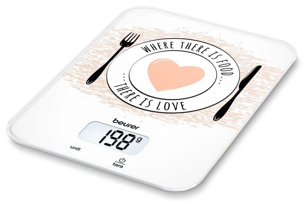 Весы кухонные Beurer KS19 Love весы кухонные smile kse 3267 рисунок