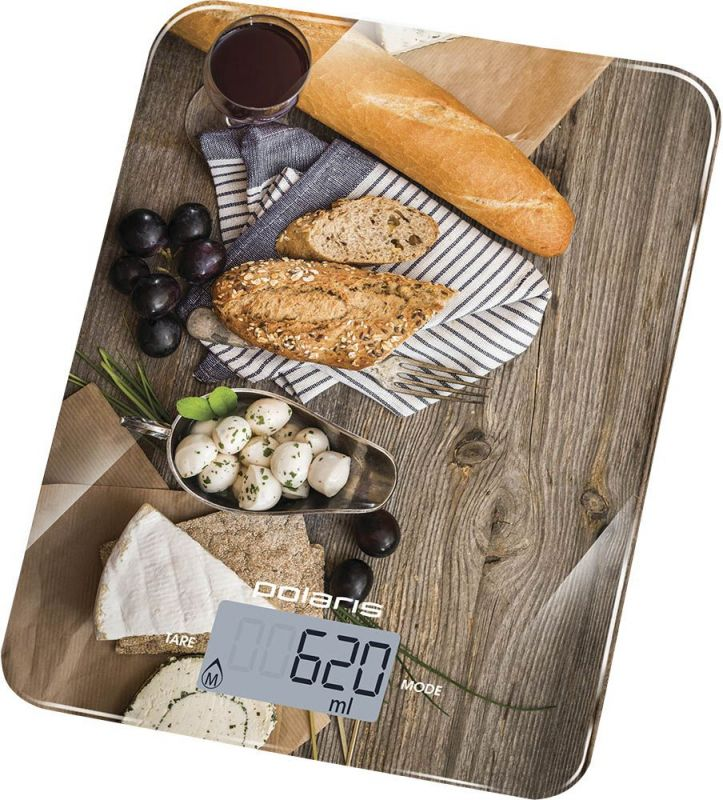 Весы Polaris PKS 1044DG кухонные, электронные,  до 10 кг