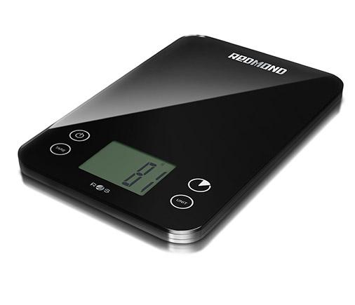 Весы кухонные электронные Redmond RS-741S-E макс.вес:5кг черный цена в Москве и Питере