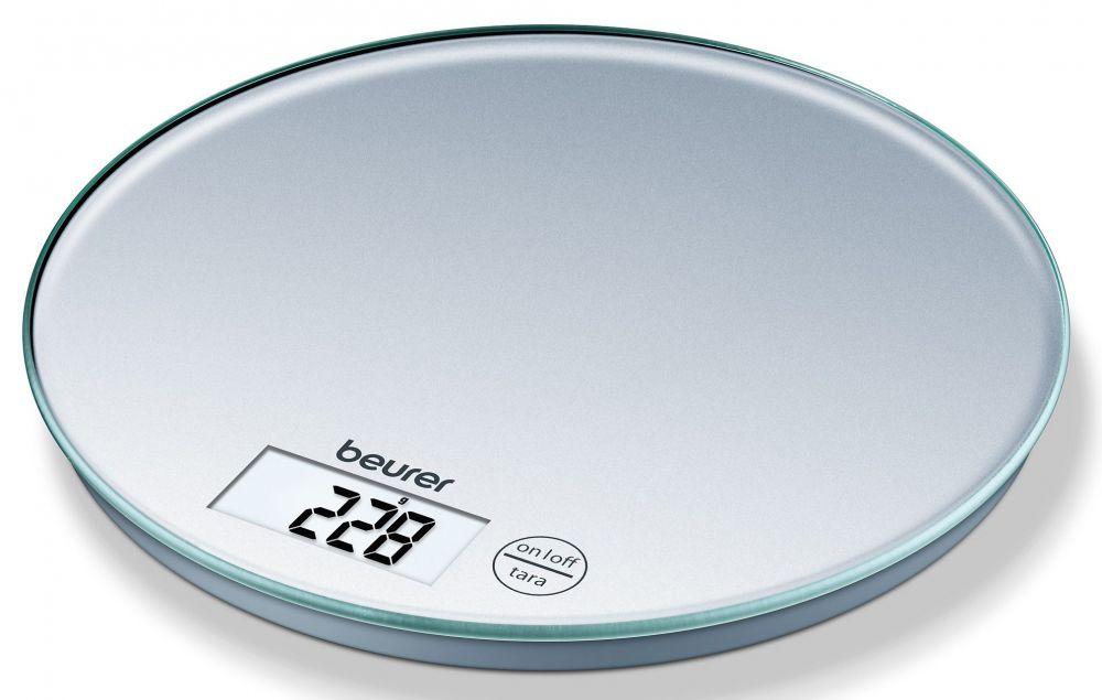 Весы Beurer KS28 кухонные, электронные, до 5 кг, цвет серебристый цена 2017