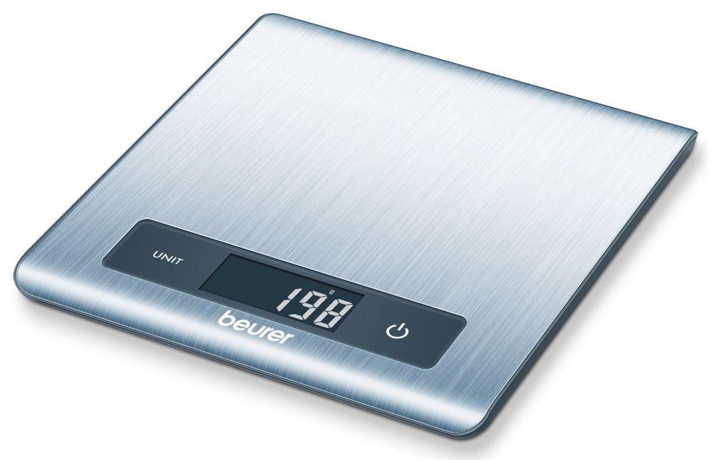 цена на Весы кухонные электронные Beurer KS51, цвет: серебристый. 1057432