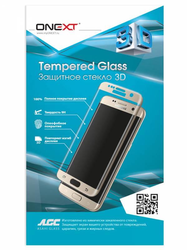 Защитное стекло для экрана Onext 3D черный для Samsung Galaxy A5 2017 1шт. (41311) защитное стекло для samsung g355h galaxy core 2 duos onext