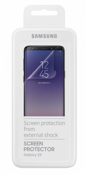 Защитная пленка Samsung для Samsung Galaxy S9, 2 шт пленка на экран samsung et fg950ctegru для galaxy s8