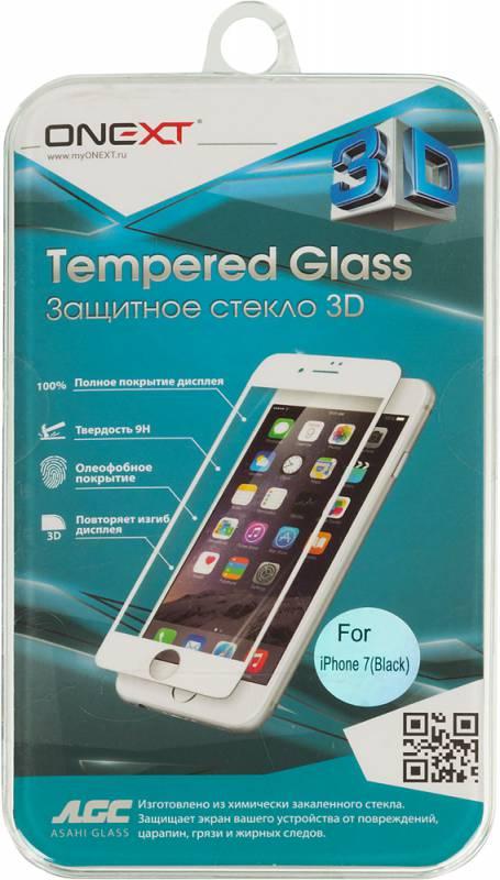 Защитное стекло Onext для Apple iPhone 7 , 641-41159, прозрачный защитное стекло onext для asus zenfone 5 lite 641 41771 черный