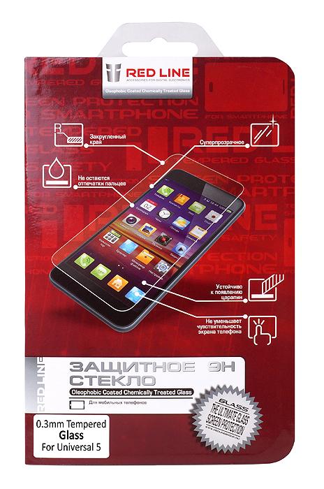 Защитное стекло Redline для смартфонов 5