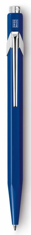Ручка шариковая Carandache Office CLASSIC Sapphire Blue, цвет чернил: синий989347Ручка шариковая Carandache Office CLASSIC Sapphire Blue, синие чернила. Без упаковки.