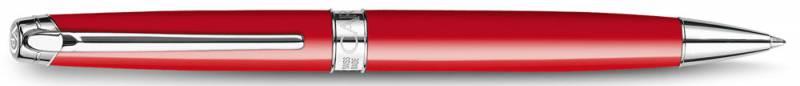 Ручка шариковая Carandache Leman (4789.770) Scarlet red lacquered SP подар.кор. sara wood scarlet lady