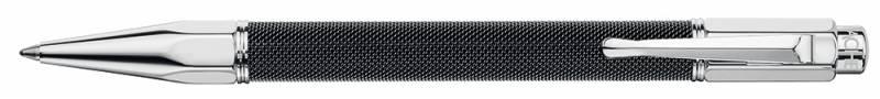 Ручка шариковая Carandache Varius Ivanhoe black (4480.082) синие чернила подар.кор. авторучка шариковая 1 0мм корпус из пресованной бумаги синие пластиковые детали синие чернила