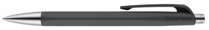 Ручка шариковая Carandache Office INFINITE Slate Gray, цвет чернил: синий ручка шариковая carandache office infinite 888 253 gb swiss cross m синие чернила подар кор