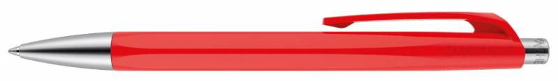 Ручка шариковая Carandache Office INFINITE Scarlet Red, цвет чернил: синий ручка шариковая carandache office infinite 888 253 gb swiss cross m синие чернила подар кор