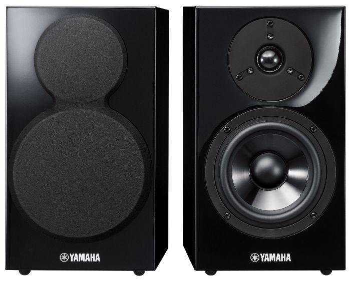 Комплект фронтальных колонок Yamaha NS-BP300 2.0, цвет: черный, 110Вт, 2 шт.