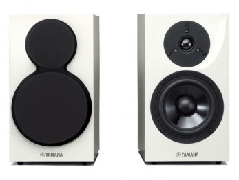 Комплект фронтальных колонок Yamaha NS-BP111 2.0, цвет: белый, черный, 90Вт, 2 шт.