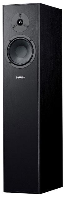 Фронтальные колонки Yamaha NS-F140 моно, цвет: черный