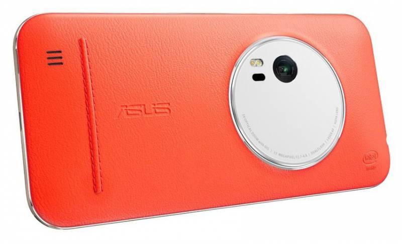 Чехол ASUS Leather Case для ZenFone Zoom ZX551ML, 90AC0100-BBC005, orange asus zx551ml black