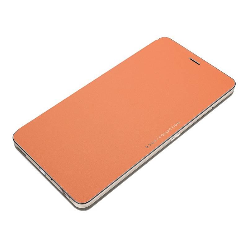 Чехол (флип-кейс) ASUS для ASUS ZenFone ZU680KL Folio Cover, 385356, оранжевый цена и фото