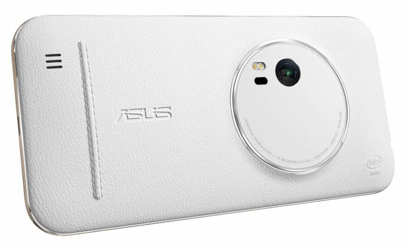 Чехол ASUS Leather Case для ASUS ZenFone ZX551ML, 358246, White все цены