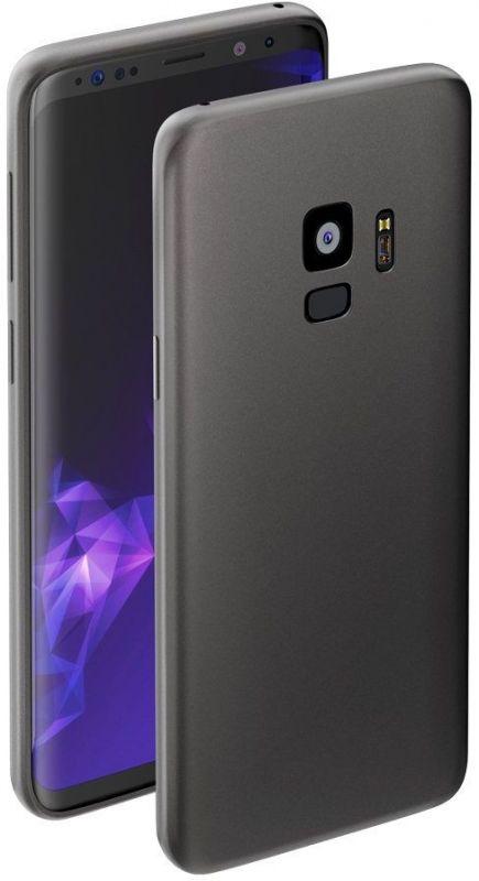 Чехол клип-кейс Deppa для Samsung Galaxy S9 Case Silk, 1083765, серый