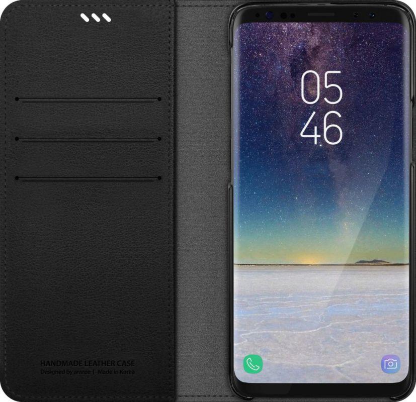 Чехол (флип-кейс) Samsung для Samsung Galaxy S9, 1045491, черный цена и фото