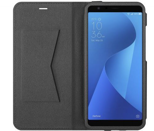 Чехол флип-кейс ASUS для ASUS ZenFone Max Plus M1 ZB570TL Flip Cover, 1022127, черный аксессуар защитное стекло для asus zenfone max plus m1 zb570tl caseguru 0 33mm full screen black 103161