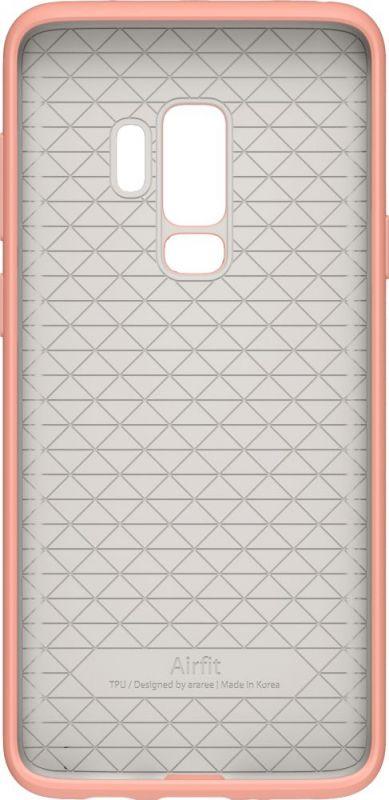Чехол Araree для Samsung Galaxy S9+ Airfit Pop, 1047516, розовый чехол клип кейс samsung для samsung galaxy s9 kdlab inc airfit pop красный gp g960kdcpbid