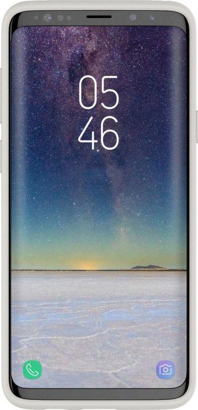 Чехол клип-кейс Samsung для Samsung Galaxy S9+ Airfit, 1047524, серый все цены
