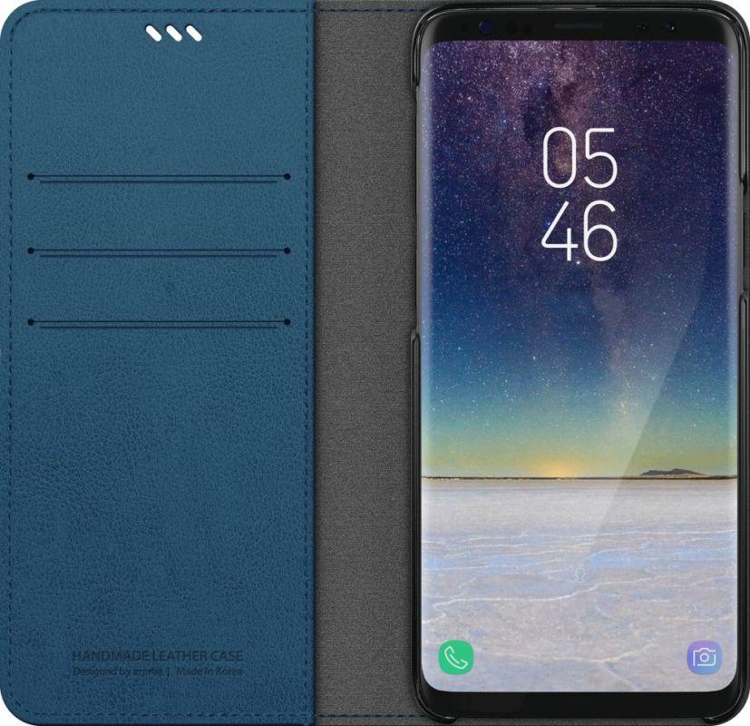 Чехол Samsung GP-G960KDCFAIC для Samsung Galaxy S9 KDLAB Inc Mustang Diary, 1045492, синий чехол клип кейс samsung для samsung galaxy s9 kdlab inc airfit pop красный gp g960kdcpbid