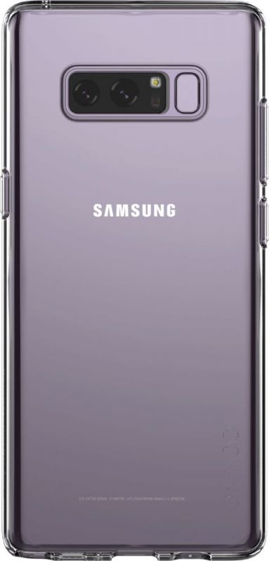Чехол (клип-кейс) Samsung для Samsung Galaxy Note 8, 1003105, прозрачный printio чехол для samsung galaxy note