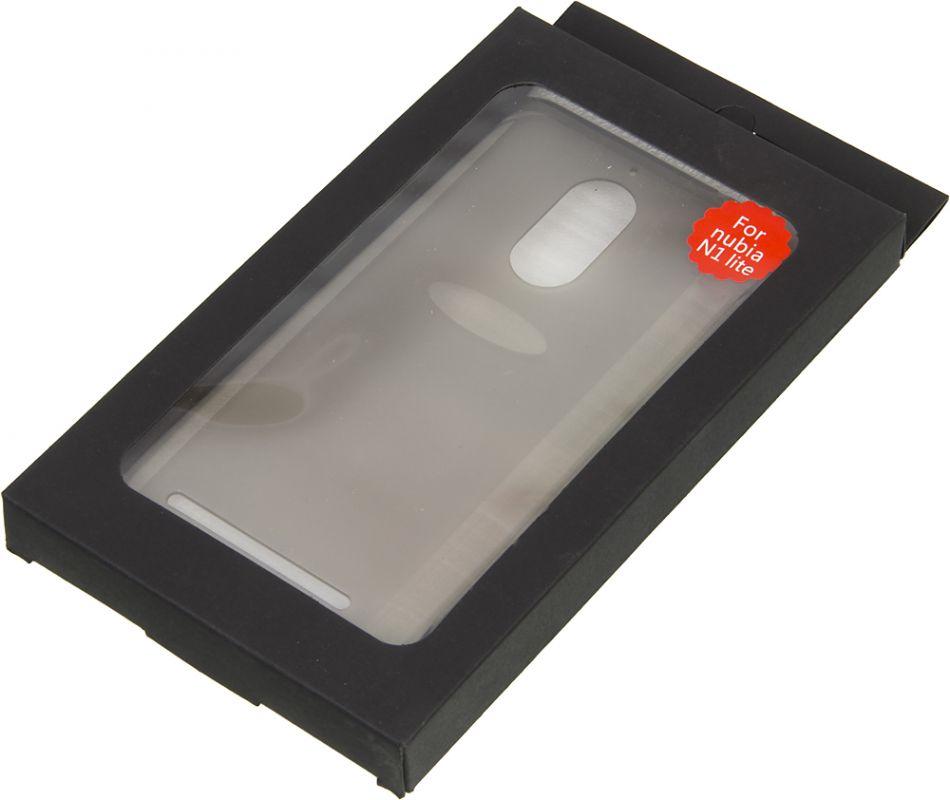 Чехол клип-кейс Nubia для Nubia N1 Lite, 1015798, прозрачный