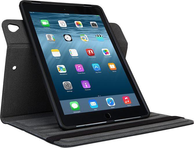 Чехол Targus для Apple iPad Air/Air 2/Pro, THZ634GL, black bluetooth wireless 64 key keyboard w stand for ipad air air 2 ipad 1 2 silver