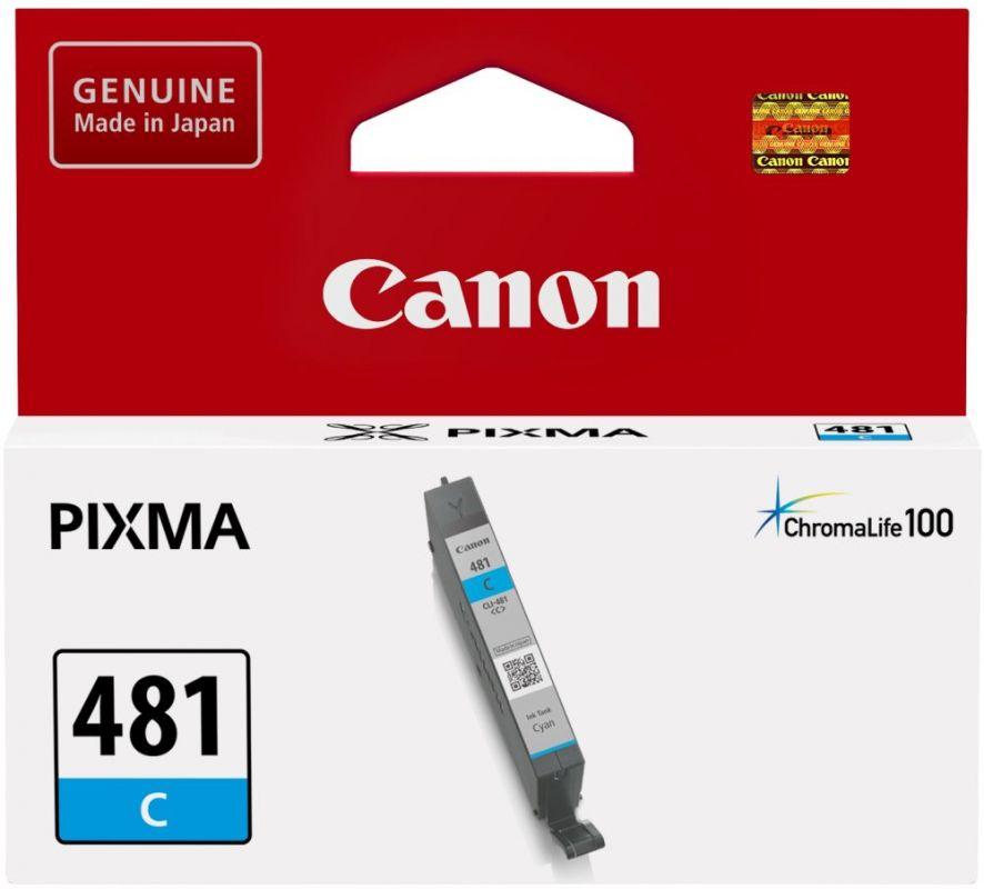Картридж Canon CLI-481 для Canon Pixma TS6140/TS8140TS/TS9140/TR7540/TR8540, 1010558, cyan картридж canon cli 481 для canon pixma ts6140 ts8140ts ts9140 tr7540 tr8540 1010557 black