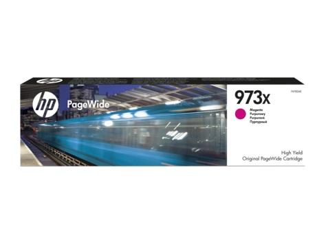Картридж HP 973X, пурпурный, для струйного принтера, оригинал цена в Москве и Питере