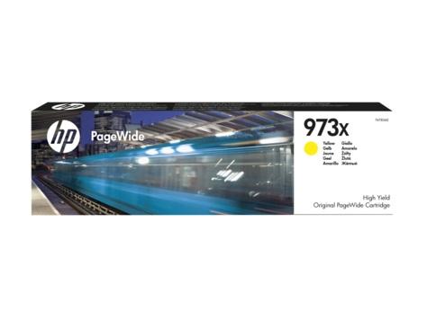 Картридж HP 973X, желтый, для струйного принтера, оригинал