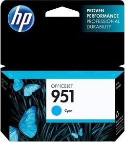 Картридж HP 951, голубой, для струйного принтера цена