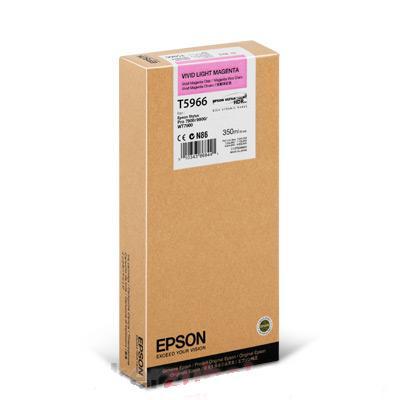 Картридж Epson T5966 (C13T596600), светло-пурпурный