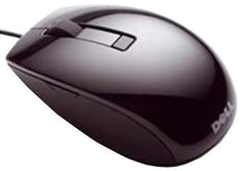 лучшая цена Мышь Dell J664D лазерная USB (6but), 570-10523, черный