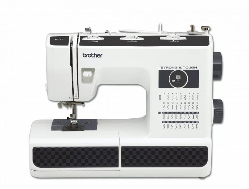 Швейная машина Brother HF27 белый/черный швейная машина tesler sm 1210