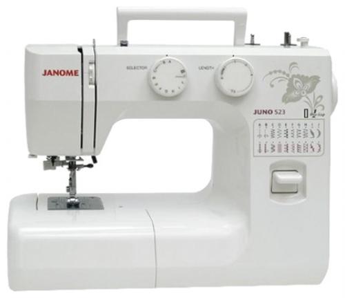 Швейная машина Janome Juno 523, цвет: белый. 407885 швейная машина janome 100ms