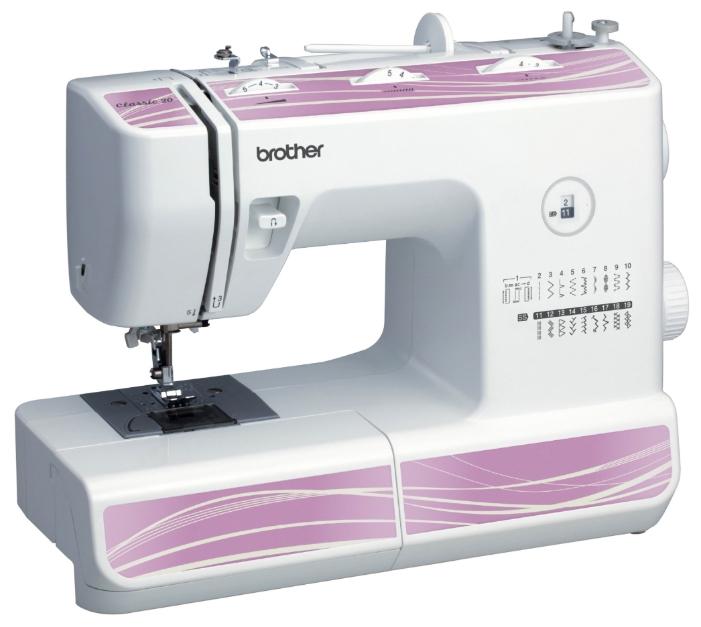 Швейная машина Brother Classic 20 белый цена
