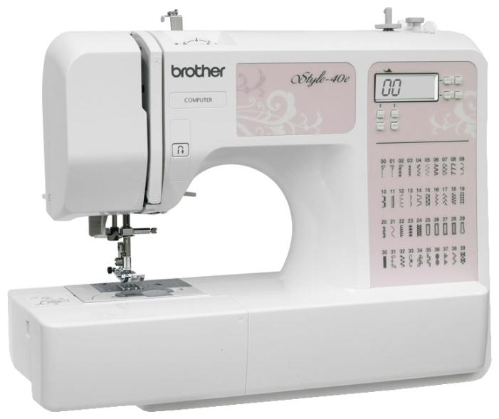 Швейная машина Brother Style 40e, цвет: белый. 809351 brother style 60e