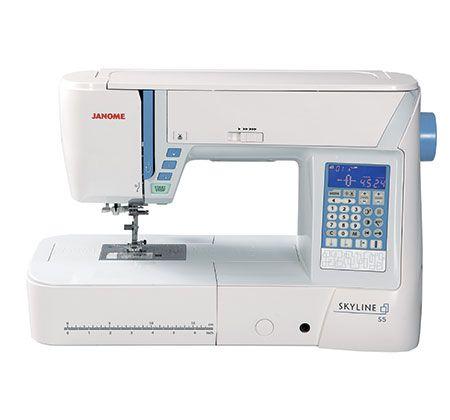 Швейная машина Janome Skyline S5, цвет: белый. 1030212 швейная машина tesler sm 1210