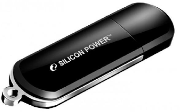Флеш Диск Silicon Power 64Gb LuxMini 322 SP064GBUF2322V1K USB2.0 черный silicon power luxmini 322 8gb черный
