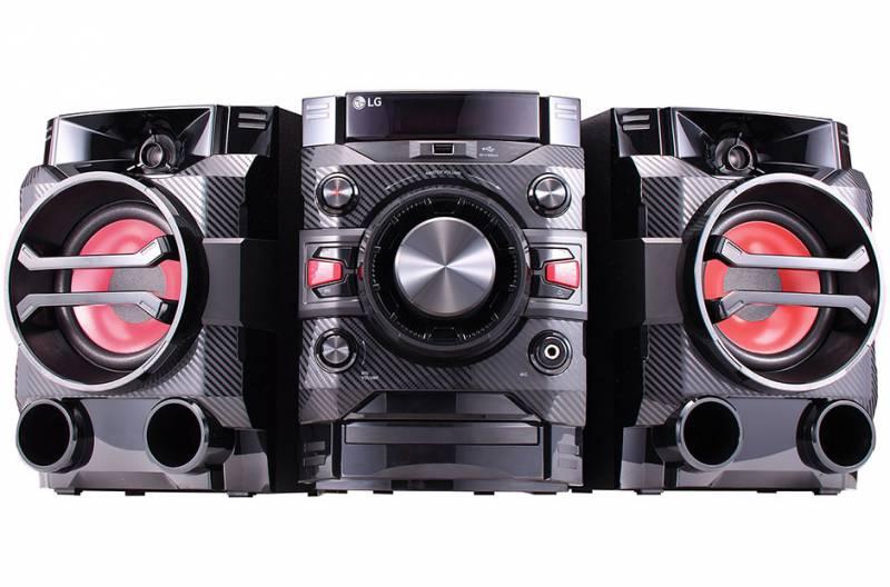 лучшая цена Музыкальный центр LG DM5360K, черный