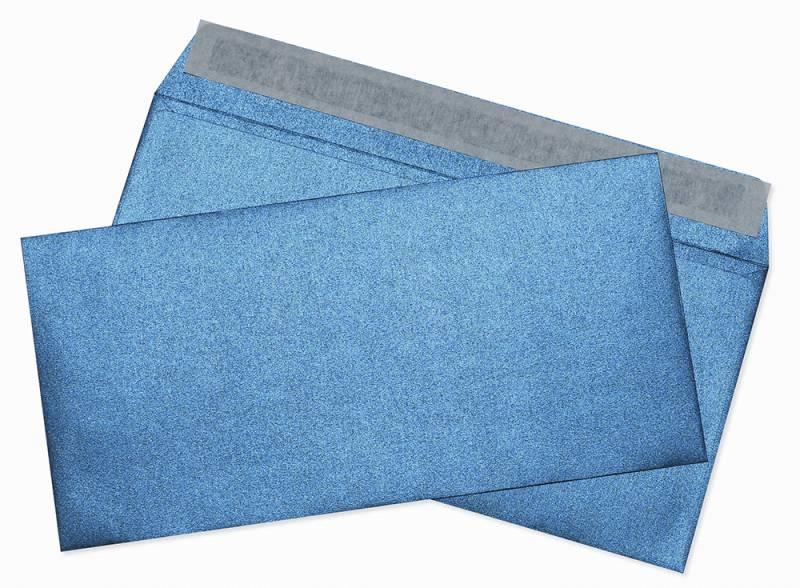 Конверт Cocktail 52120MDB E65, цвет: темно-синий, 11 x 22 см платье oodji ultra цвет темно синий розовый 11910073b 26346 7941f размер 36 164 42 164