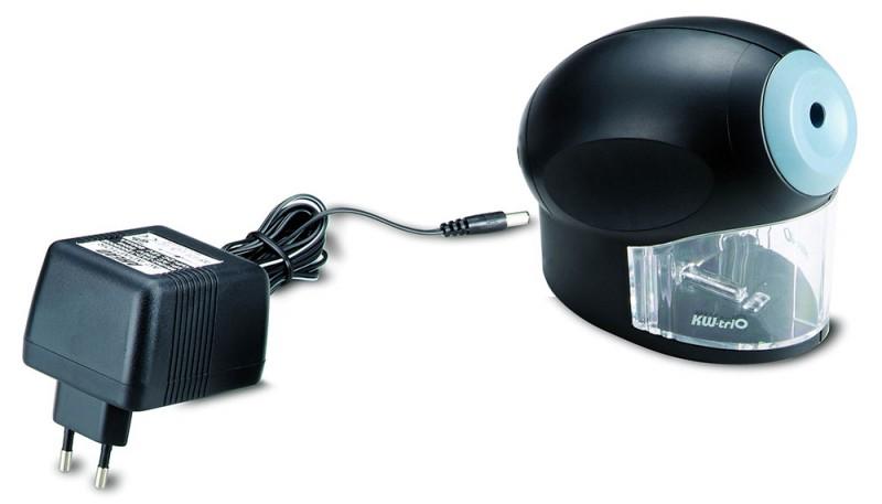 Точилка для карандашей электрическая Kw-Trio 30H2, цвет черный