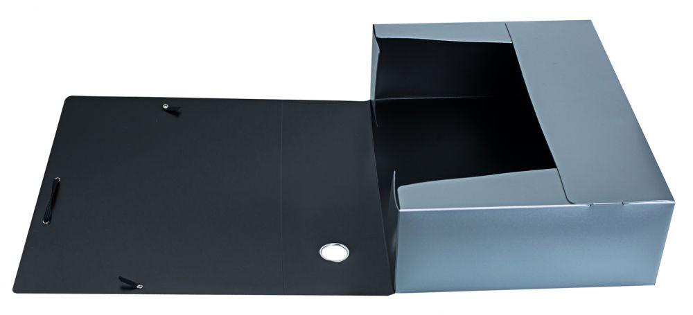 Папка архивная на резинке Silwerhof, 1006915, формат А4, цвет в ассортименте папка архивная на резинке silwerhof perlen 311913 76 полипропилен 1мм корешок 100мм a4 мокрый асфаль 5 шт кор