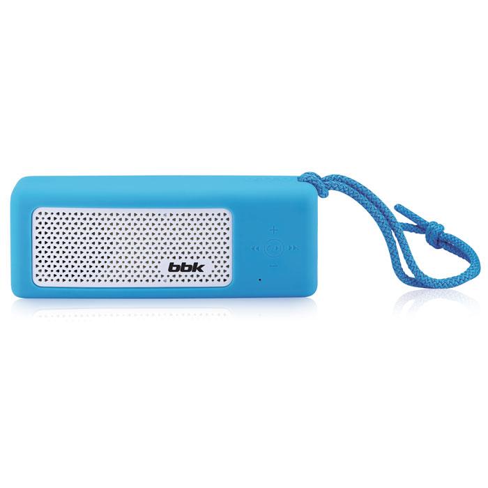 Аудиомагнитола BBK BTA190 290116, синий, белый цена и фото