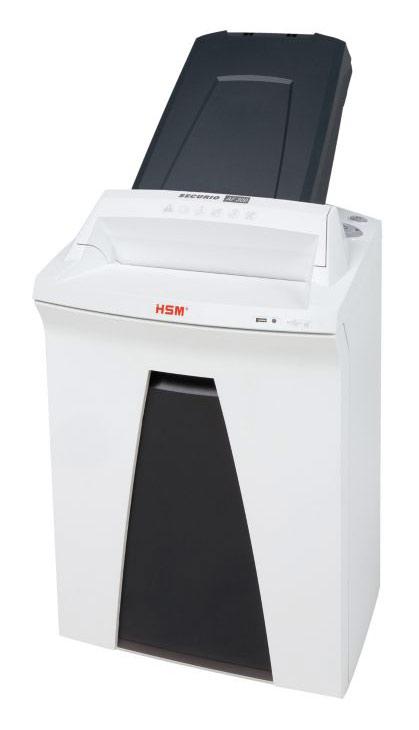 Шредер HSM Securio AF300 (секр.P-4)/фрагменты/300лист./34лтр./скрепки/скобы/пл.карты/CD шредер hsm securio p36 i 3 9 1850121