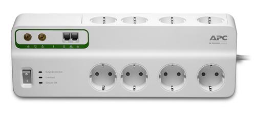 Сетевой фильтр APC PMF83VT-RS 8 розеток, 3м, 283532, белый